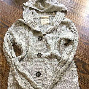 Cute gray cardigan ▫️ EUC